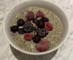 Chia Custard Pudding - adapted from Pete Evans recipe (Paleo)