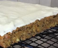 Mums Carrot Cake
