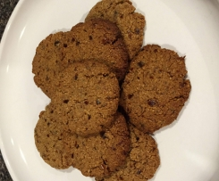 Gluten Free Anzac Style Biscuits