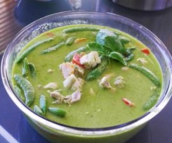 Thai Green Chicken Curry (From Fresh Ingredients)