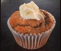 Banana and Honey Wholemeal Muffins