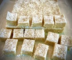 Salted Cashew and Coconut Slice