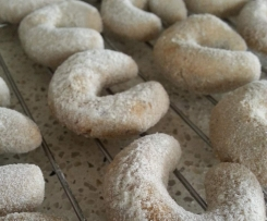 Coffee & Hazelnut Horseshoe Biscuits