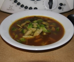 Brussel Sprouts in 7 Spice Broth