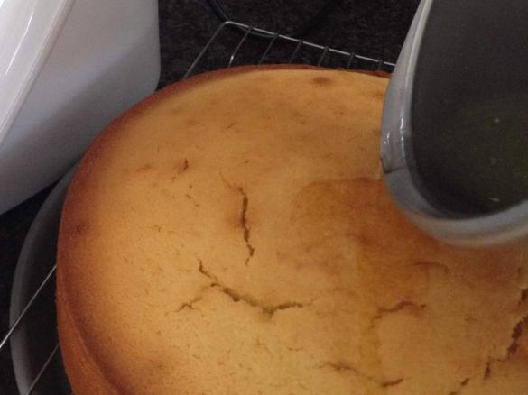 Glazed Lemon Syrup Cake By Gayle Rowan A Thermomix SupR Sup