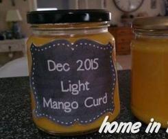 Low Fat Mango Curd