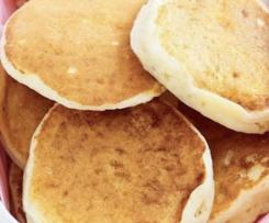 Apple Pikelets Egg Free Adaptable