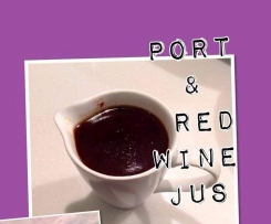 PORT & RED WINE JUS/REDUCTION