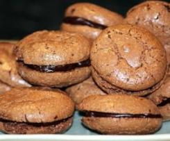 Chocolate aniseed Macarons