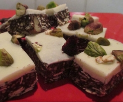 White Chocolate Christmas Nougat