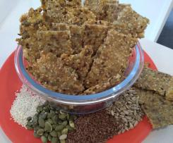 Easy Four Seed Crackers