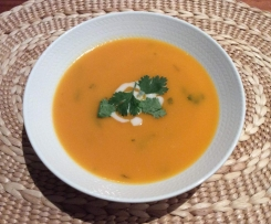 Asian Inspired Kumara Soup