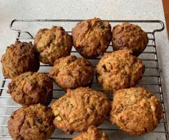Apple & Carrot Lactation Muffins