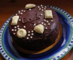 Gluten Free Chocolate Orange Cake (refined-sugar-free)