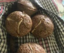 Hot Cross Muffins GF & DF