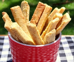 Gluten Free Cheese and Herb Snack Sticks (Lunchbox)