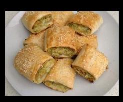Chicken and Vegetable Sausage Rolls