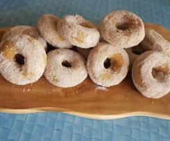 Pumpkin Chai Doughnuts