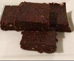 Guilt free brownies