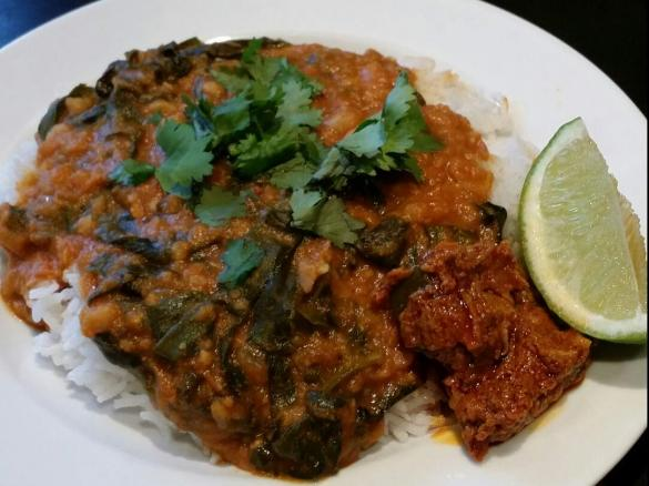 Chickpea tomato and spinach rogan josh curry by kate dillon a thumbnail image 1 forumfinder Choice Image