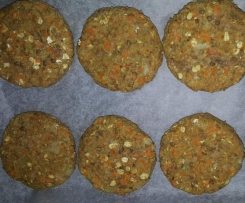 Lentil & Cashew Burgers (Weight Watchers)