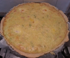 Bacon & 4 Cheese Quiche
