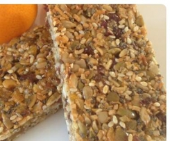 Wholesome muesli bars
