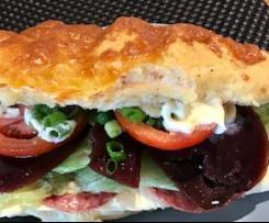 Subway style Italian rolls