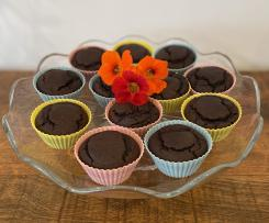 Healthy choc date cupcakes
