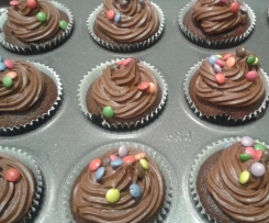 Easy Rich Chocolate Cupcake