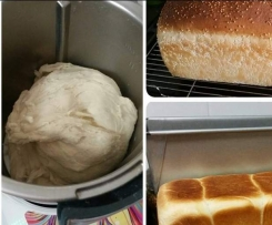 Jumbo White Bread Loaf - Thermomumma