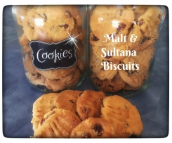 Nanny's Malt & Sultana Biscuits