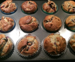 Blueberry & Chia Muffins