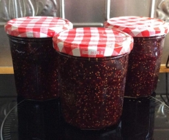 Fig and Raspberry Jam