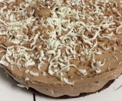 Gluten Free Chocolate Kahlua Cheesecake