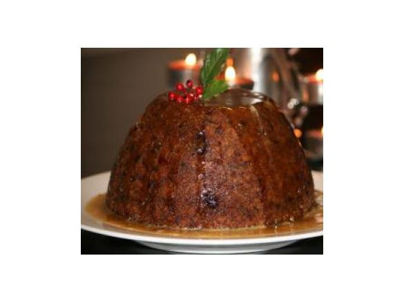 Christmas Pudding with Brandy Caramel Sauce (Peel free) by ...
