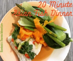 20 Minute Asian Fish Dinner