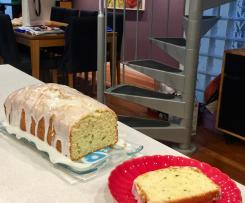 Lemon or Lime Zucchini Cake