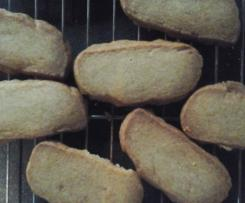 Fructose free, dairy free cinnamon cookies