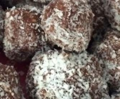 choc chip coconut balls - no baking required