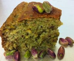 Zucchini Pistachio and Lime Cake