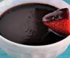 Chocolate nougat & Kahlua Fondue
