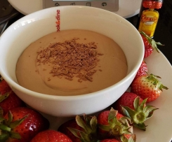Nic's Chocolate and Flake Kahlua Fruit Dip