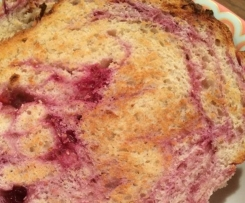 Raspberry and Cinnamon Toast