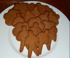 Swedish Gingerbread (Pepparkaka)