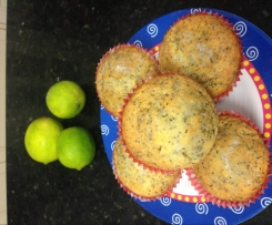 Lime & Poppyseed Muffins
