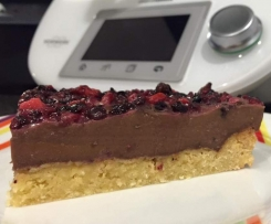 Choc Berry Custard Slice