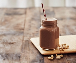 Choc banana smoothie