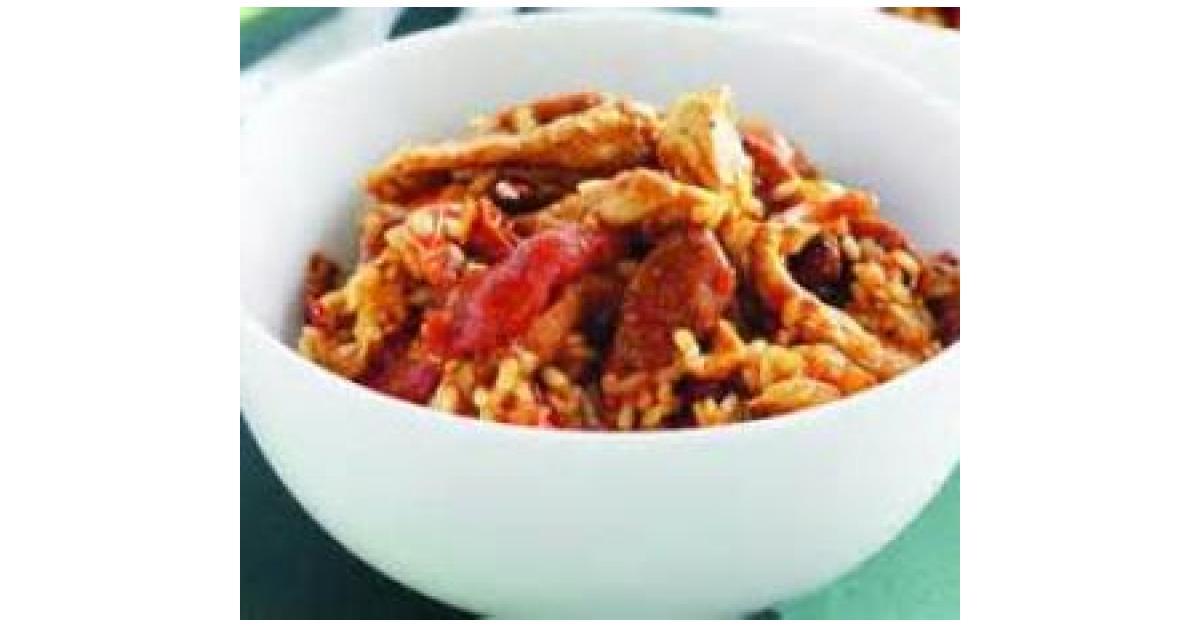 Chicken and chorizo risotto by allison167 a thermomix recipe in the category pasta rice - Risotto chorizo thermomix ...