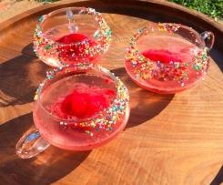 Sparkling Berry Sorbet Spritzer